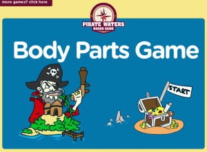 Pirate body parts