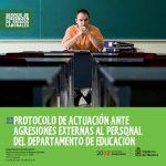 Protocolo de actuación ante agresiones externas